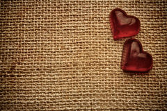 Vintage heart. Royalty Free Stock Photos