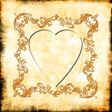 Vintage Heart Royalty Free Stock Photos