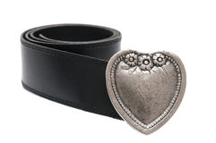 Vintage heart belt Royalty Free Stock Images