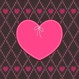 Vintage heart shape design Royalty Free Stock Photo