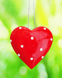 Vintage heart with space for your text Royalty Free Stock Image