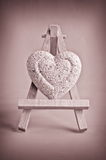 Vintage heart Royalty Free Stock Images
