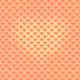 Vintage heart symbol repeating pattern Royalty Free Stock Images
