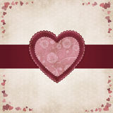 Vintage heart by Valentines Day Stock Image