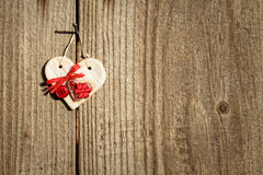 Vintage heart Royalty Free Stock Image