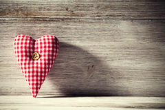 Vintage heart. Royalty Free Stock Images