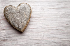 Vintage heart. Stock Images
