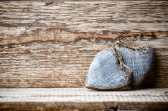 Vintage heart. Royalty Free Stock Image