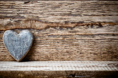 Vintage heart. Royalty Free Stock Photo