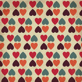 Vintage Hearts Royalty Free Stock Photography