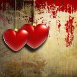Vintage hearts design Royalty Free Stock Photos
