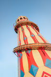Vintage helter skelter ride Royalty Free Stock Photos