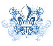 Vintage heraldic emblem vector illustration