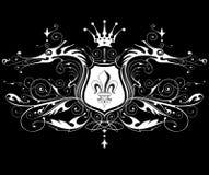 Vintage heraldic emblem Stock Photos