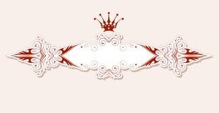 Vintage heraldic frame Royalty Free Stock Image