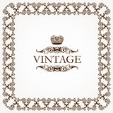 Vintage heraldic imperial frame Vector Stock Images
