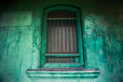 Vintage Heritage Windows of Culture. Windows to the culture of George Town, Penang, that was influenced majority by the rich culture of Malay, Chinese and royalty free stock images