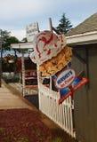 Vintage  Hershey`s Ice Cream sign Royalty Free Stock Photos