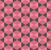 Vintage hexagonal seamless pattern Stock Photos