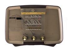 Antique hifi stereo radio. A vintage hifi radio stereo stock images