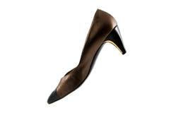 Vintage high heel shoe Royalty Free Stock Photo