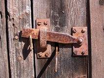 Vintage hinge. Vintage rusty hinge Stock Photography