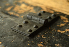 Vintage Hinge Stock Photography