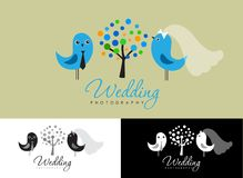 Vintage hipster logo collection for wedding photographer Royalty Free Stock Photography