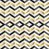 Vintage hipster rhombus background in gold Stock Images
