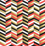 Vintage hipster rhombus background in gold Stock Image