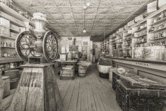 Vintage Historic Store in Bodie Ghost Town Royalty Free Stock Photos