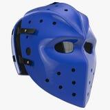Vintage hockey mask on white. 3D illustration Royalty Free Stock Photos
