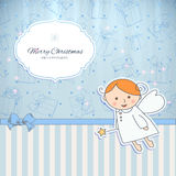 Vintage holiday card design Royalty Free Stock Images
