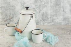 Vintage home arrangement, soft pastel colors. Stock Photography