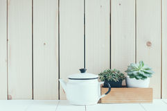Vintage home arrangement Royalty Free Stock Photo