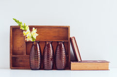 Vintage home decor Royalty Free Stock Images