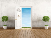 Vintage home entrance Royalty Free Stock Images