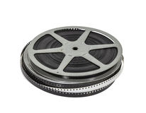 Vintage Home Movie Film Reel and Can Royalty Free Stock Photo