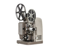Vintage Home Movie Projector Stock Photo
