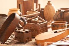 Vintage home utensil Stock Images