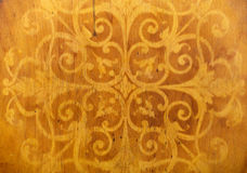 Homemade wood chair patterns Royalty Free Stock Images