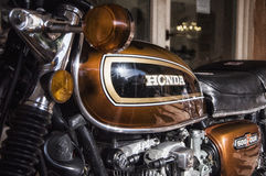 Vintage honda  500 four Stock Images