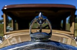 Vintage Hood Ornament stock photography