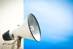 Vintage horn speaker Stock Image
