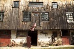 Vintage horse barn in rural Pennsylvania Royalty Free Stock Photos