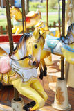 Vintage horse of a carousel Royalty Free Stock Photo
