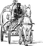 Vintage horse carriage Royalty Free Stock Photos