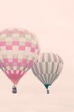 Vintage hot air balloons Stock Photos
