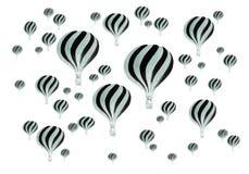 Vintage Hot air balloons Royalty Free Stock Photography