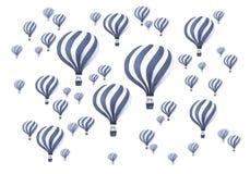 Vintage Hot air balloons Royalty Free Stock Image